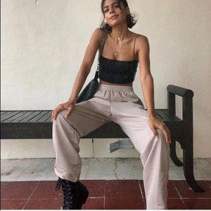 Vintage oversized sweatpants